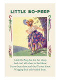 Little Bo-Peep Wall Decal