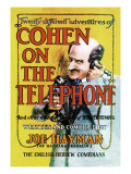 Cohen on the Telephone Wall Decal by Joe Hayman