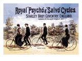 Royal Psycho and Salvo Cycles Wallsticker