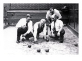 Bocce Balls, Philadelphia, Pennsylvania Wall Decal