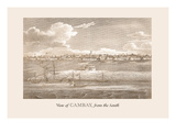 View of Cambay Wall Decal by Baron De Montalemert