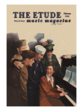 Etude, Soldiers at the USO Sing-A-Long Wall Decal
