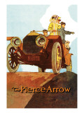 Sightseeing from the Pierce-Arrow Wall Decal