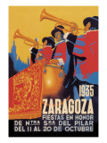 Zaragoza Wall Decal by Evillermo 