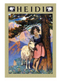 Heidi Wall Decal by Jessie Willcox-Smith