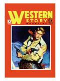 Western Story Magazine: Quick Shot Wall Decal