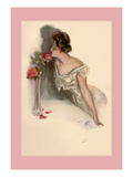American Beauties Wall Decal by Harrison Fisher