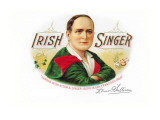 Irish Singer Cigars Wall Decal