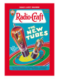 Radio Craft: The Triple-Twin Output Tube Wallsticker