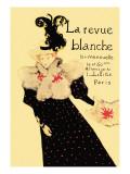 La Revue Blanche Vinilo decorativo por Henri de Toulouse-Lautrec