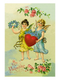 Classic Valentine Wall Decal