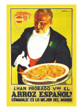 Arroz Espanol Wall Decal by Vorin 