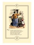 Little Lily's Alphabet: Pancakes, Mamma! Wall Decal by Oscar Pletsch