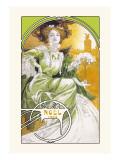Noel 1903 Wallstickers af Alphonse Mucha