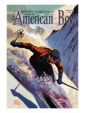 American Boy, February 1939 Wall Decal by Edgar Franklin Wittmack