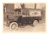 Hughes-Curry Packing Co. Truck Wall Decal