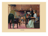 Lavoisier Wall Decal by Robert Thom
