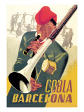 Cobla Barcelona Wall Decal by Francesco Fabregas