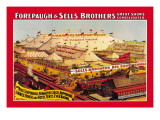 Forepaugh and Sells Brothers Great Show Consolidated Wall Decal
