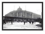 South Street Station, Boston Wall Decal by William Henry Jackson