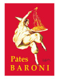 P&#226;tes Baroni Autocollant mural