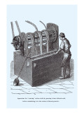 Apparatus for Souring Cotton Vinilos decorativos por John Howard Appleton