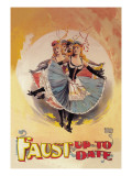 Faust Up to Date Wall Decal by John Stewart Browne