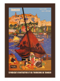 Tangier: Son Site, Son Climat Wall Decal by Jacques Majorelle