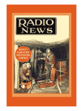Radio News: Radio Rescues Miners Wall Decal