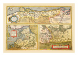 Maps of Eastern Europe and Russia Wall Decal by Abraham Ortelius