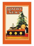 Radio News: Christmas Wall Decal