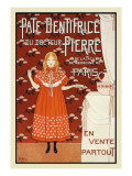 Pate Dentrifice du Docteur Pierre Wall Decal by Louis Maurice Boutet De Monvel