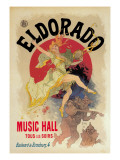 Eldorado Music Hall Wall Decal by Jules Chéret