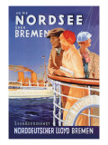 Cruise to the North Sea Via Bremen Wall Decal