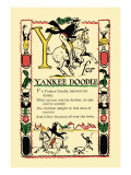 Y for Yankee Doodle Wall Decal by Tony Sarge