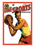 Dime Sports Magazine: Basketball Wall Decal