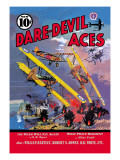 Dare-Devil Aces: The Dead Will Fly Again Wall Decal