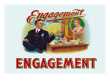 Engagement Cigars Wall Decal