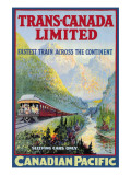 Trans-Canada Limited, Fastest Train Across the Continent Wall Decal
