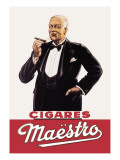 Maestro Cigares Wall Decal