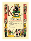 K for King Cole Wall Decal by Tony Sarge
