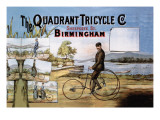 The Quadrant Tricycle Company Wall Decal