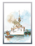 U.S. Navy: Strength Wall Decal by Willy Stower