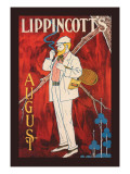Lippincott's, August 1895 Wall Decal by Will Carqueville