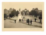 Tuileries Garden Wall Decal