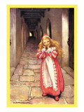 Frightened Princess Wall Decal by Jessie Willcox-Smith