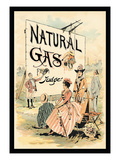 Judge Magazine: Natural Gas Wall Decal by Grant Hamilton
