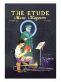 The Etude: September 1932 wandtattoos von Renninger