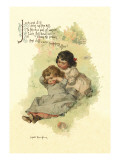 Jack and Jill Wall Decal by Maud Humphrey