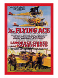 Flying Ace Movie Poster Wall Decal